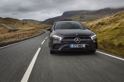 2020 Mercedes-AMG A 35 4Matic saloon - UK version 12