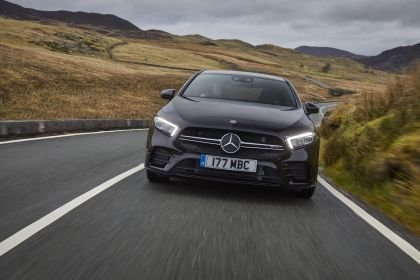 2020 Mercedes-AMG A 35 4Matic saloon - UK version 14