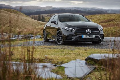 2020 Mercedes-AMG A 35 4Matic saloon - UK version 16