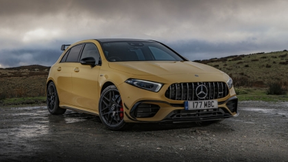 2020 Mercedes-AMG A 45 S 4Matic+ - UK version 9