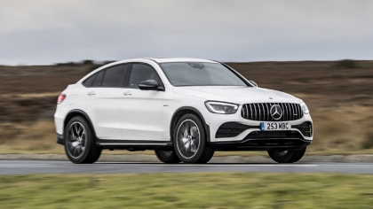 2020 Mercedes-AMG GLC 43 4Matic coupé - UK version 6