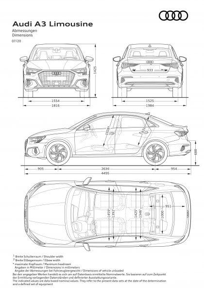2020 Audi A3 sedan 78