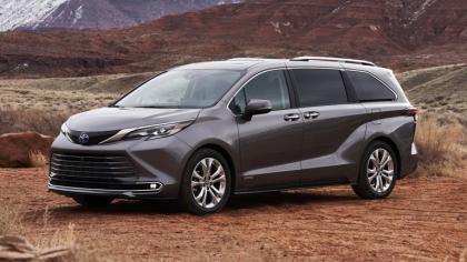 2021 Toyota Sienna Platinum 7