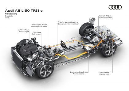 2020 Audi A8 L 60 TFSI e quattro - UK version 135