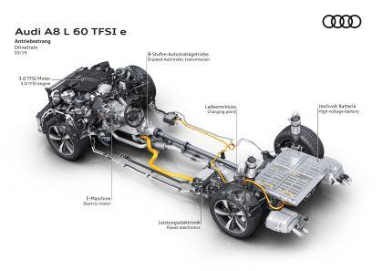 2020 Audi A8 L 60 TFSI e quattro - UK version 136