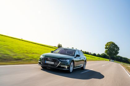 2020 Audi A8 L 60 TFSI e quattro - UK version 139