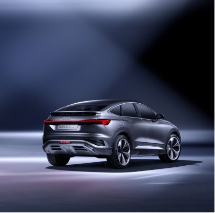 2020 Audi Q4 Sportback e-tron concept 4