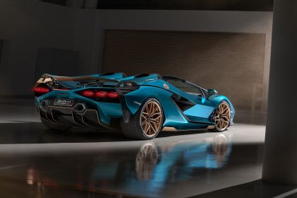 2020 Lamborghini Sián roadster 9