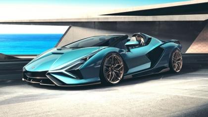 2020 Lamborghini Sián roadster 5