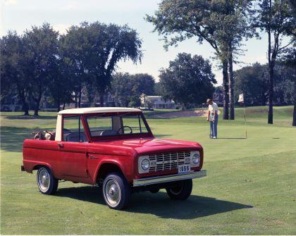 1966 Ford Bronco pickup 1