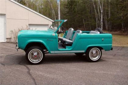 1966 Ford Bronco roadster 5