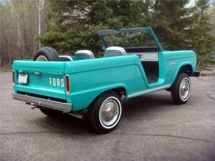 1966 Ford Bronco roadster 6