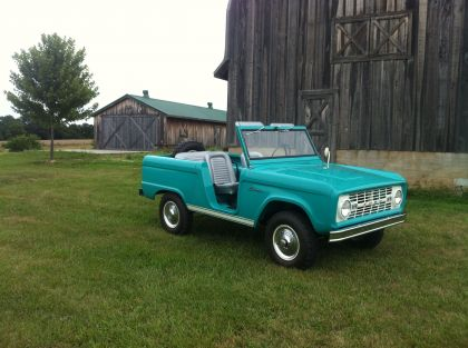 1966 Ford Bronco roadster 7