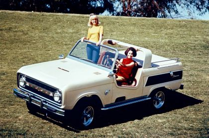 1966 Ford Bronco Dunes Duster concept 1