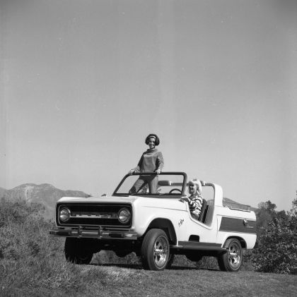 1966 Ford Bronco Dunes Duster concept 29