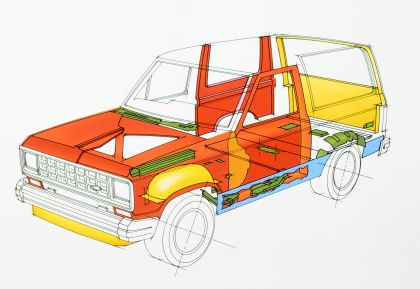 1985 Ford Bronco II 36
