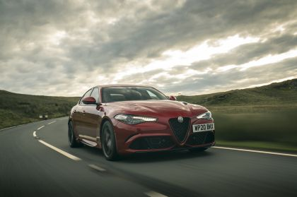 2020 Alfa Romeo Giulia Quadrifoglio - UK version 4