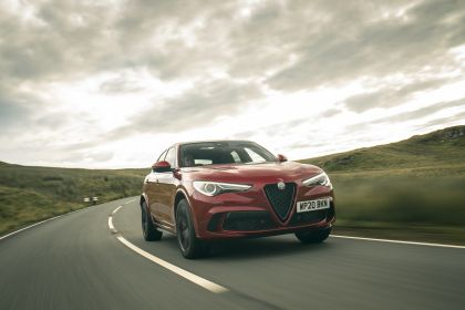 2020 Alfa Romeo Stelvio Quadrifoglio - UK version 6