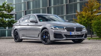 2021 BMW 545e ( G30 ) xDrive sedan 4