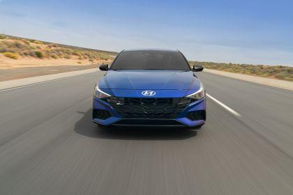 2021 Hyundai Elantra N Line 8
