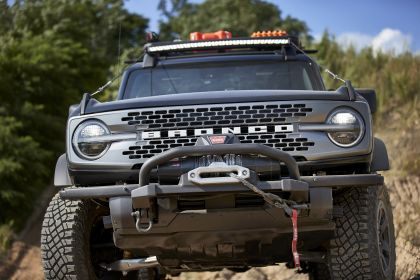 2020 Ford Bronco 2-door Trail Rig concept 2