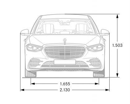2021 Mercedes-Benz S-Class ( V223 ) 234