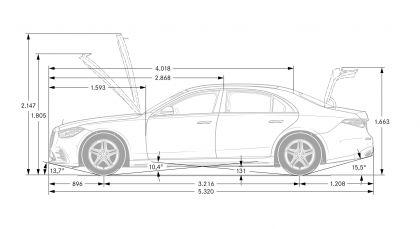2021 Mercedes-Benz S-Class ( V223 ) 237