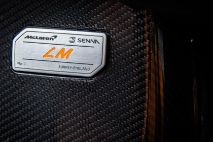 2020 McLaren Senna LM 12