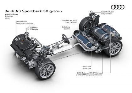 2021 Audi A3 Sportback 30 g-tron 18
