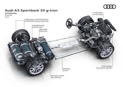 2021 Audi A3 Sportback 30 g-tron 19