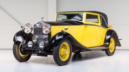 1934 Rolls-Royce 20-25 H.P. coupé by Barker 4