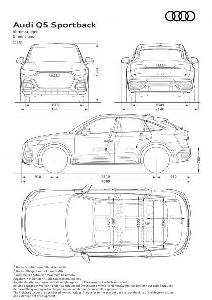 2021 Audi Q5 Sportback 45 TFSI quattro 157