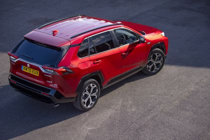 2021 Suzuki Across Hybrid - UK version 8