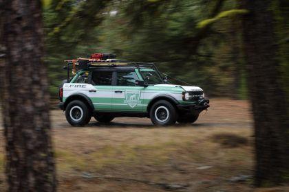 2020 Ford Bronco + Filson Wildland Fire Rig Concept 2