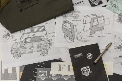 2020 Ford Bronco + Filson Wildland Fire Rig Concept 17