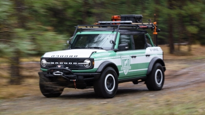 2020 Ford Bronco + Filson Wildland Fire Rig Concept 2