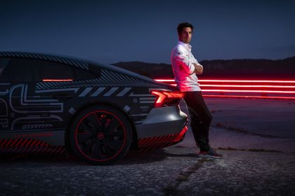 2020 Audi RS e-tron GT prototype 70