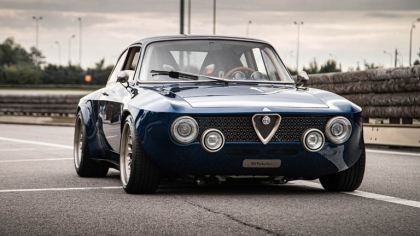 2021 Alfa Romeo Giulia GT electric by Totem 1