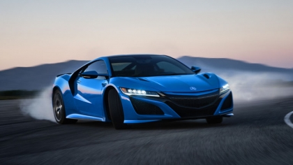 2021 Acura NSX in Long Beach Blue Pearl 8