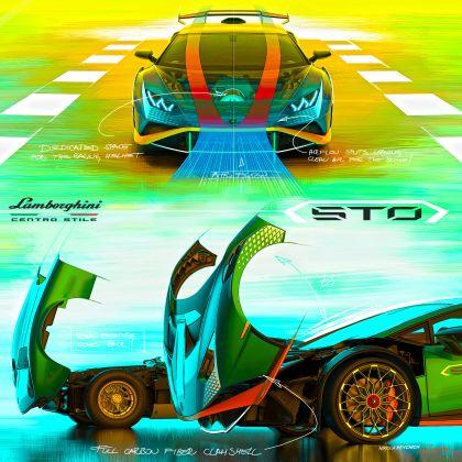 2021 Lamborghini Huracán STO 24