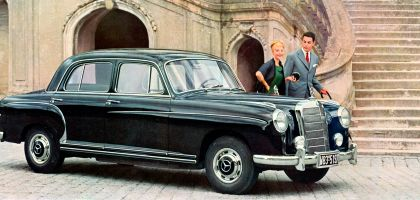 1954 Mercedes-Benz 220 ( W180 ) Ponton 7