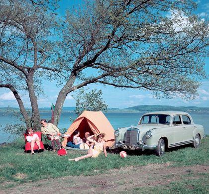 1954 Mercedes-Benz 220 ( W180 ) Ponton 8