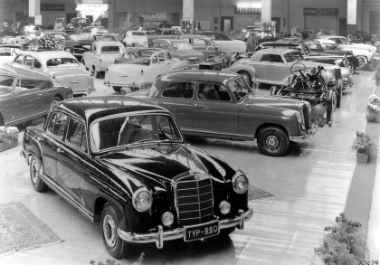 1954 Mercedes-Benz 220 ( W180 ) Ponton 22