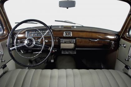 1954 Mercedes-Benz 220 ( W180 ) Ponton 25