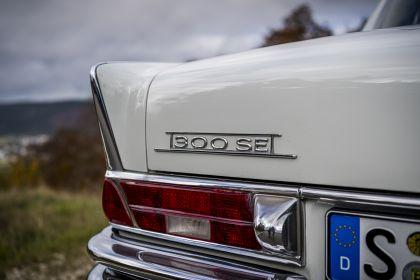 1961 Mercedes-Benz 300 SE ( W112 ) Tailfin 25
