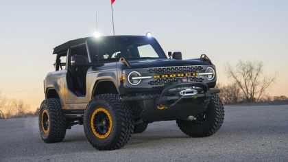 2020 Ford Bronco 2-door Badlands Sasquatch concept 6