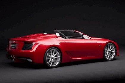 2008 Lexus LF-A Roadster concept 5