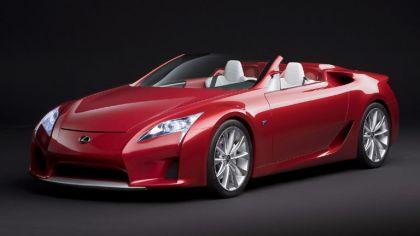 2008 Lexus LF-A Roadster concept 2