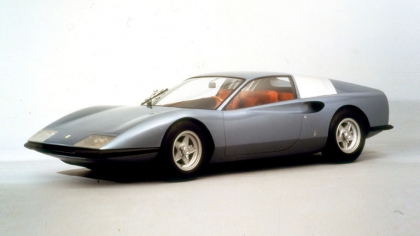 1968 Ferrari P6 concept by Pininfarina 3