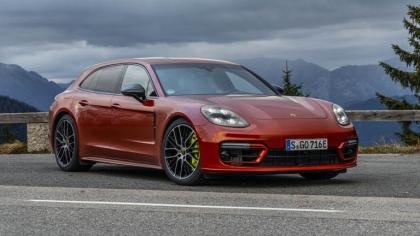 2021 Porsche Panamera 4 E-Hybrid Sport Turismo 8